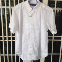 New Old Stock COMME des GARCONS homme short sleeve shirt button down
