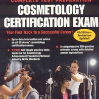 Cosmetology Certification Exam (Cosmetology Licensing Exam)