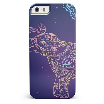 Colorful Sacred Elephant iPhone 5/5s or SE INK-Fuzed Case