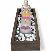 Personal Buddha Garden: Personalized Keepsake Gifts - A meditative garden scene for the home or office.