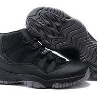 Cheap Nike Air Jordan 11 Retro Men Shoes All Black Hot Sale
