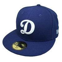 "OKC Dodgers ""D-Logo"" Fitted Hat - Blue"
