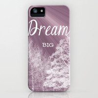 Dream Big iPhone Case for iphone 5, 4S, 4, 3GS, 3G by Alice Gosling | Society6