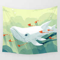 Nightbringer 2 Wall Tapestry by Freeminds