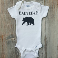 East Knitting K297 Infant  Baby Bear Print Jumpsuit Short Sleeve Summer Baby Rompers 0-24M Baby Boys And Girls Clothing