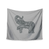 "Belinda Gillies ""Elephant"" Wall Tapestry"
