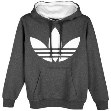adidas Originals Big Logo Pull Over Fleece Hoodie - Men's