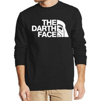 Star Wars Men Sweatshirt The Darth Face 2016 new autumn winter fashion hoodies cool streetwear tracksuit harajuku  clothing