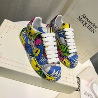Alexander Mcqueen Graffiti Oversized Sneakers Reference #2