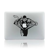 """Creative Anime Superman Partial Skin Cover Vinyl Computer Laptop Decal Sticker for Macbook 17"""" = 1946547972"""