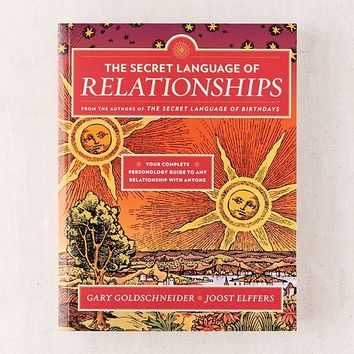 The Secret Language of Relationships By Gary Goldschneider & Joost Elffers | Urban Outfitters