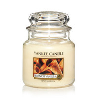 French Vanilla : Medium Jar Candles : Yankee Candle