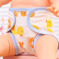 1pc Soft Cotton Diapers Baby Diaper Children Underwear Reusable Nappies Training Pants Panties for Toilet Training Child