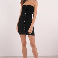 Cynthia Strapless Bodycon Dress