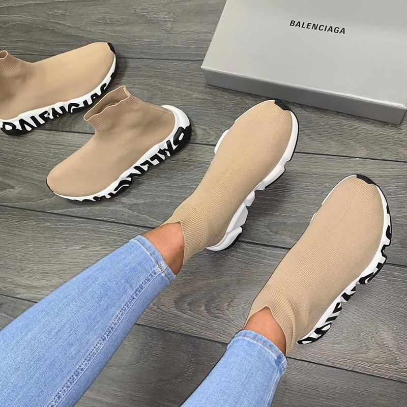 Image of Balenciaga Woman Men Boots Fashion Breathable Sneakers Running Shoes