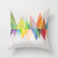 Graphic 37 Throw Pillow by Mareike Böhmer Graphics