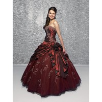 New Strapless Burgundy Navy Blue Purple Wedding Party Dresses Lace Up Girls Birthday Dresses Long Prom Quinceanera Dresses Ball