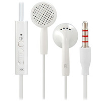 Langston IN2 3.5mm Plug Stereo In-Ear Earphone / Headphone with Microphone & 1.2M Cable (White)