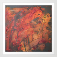 orchard Art Print by Tess_Andre