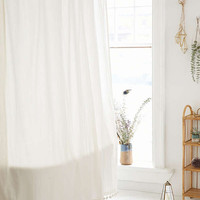 Magical Thinking Pompom Shower Curtain   Urban Outfitters
