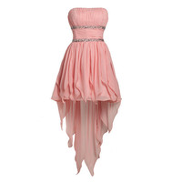 High-low Prom Homecoming Bridesmaids dress