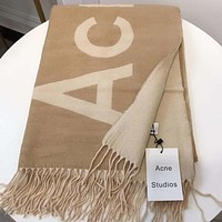 Perfect Acne Studios Women Wool Scarf Shawl Scarf