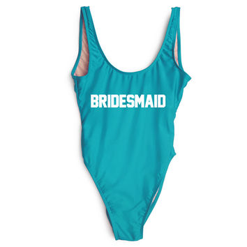 Bridesmaid One Piece Swimsuit