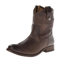 Frye Slate Melissa Button Short Leather Boots