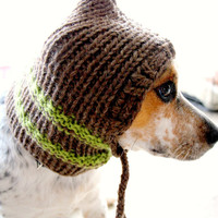 Small dog hat, dog cowl, pet clothing, pet cowl, dog clothes, gift idea, dog hoodie