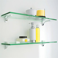 The Container Store > Glass Shelf Clip Kits