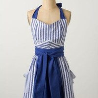 Stripes Abound Apron by Anthropologie Multi One Size Aprons