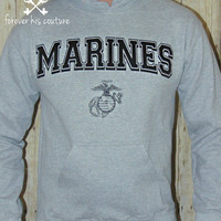 usmc girlfriend usmc wife usmc mom marine girlfriend marine wife marine mom marine tee Usmc pullover Usmc hoodie usmc shirt