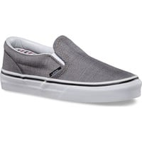 Vans Classic Slip-On Suiting Stripes Youth Shoes