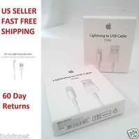 Original Apple Lightning to USB Charge & MFi Cable for iPhone 7 Plus /6s/5//iPod