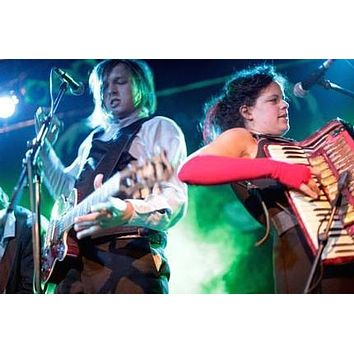 Arcade Fire On Stage 8x10 photo