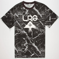 Lrg Marble Mob Mens T-Shirt Black  In Sizes