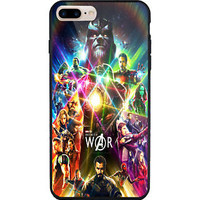 Marvel Avengers Infinity War Thanos iPhone 7 and 7+ Hard Plastic Case Cover