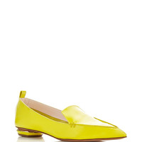 Lime Patent Leather Beya Loafer