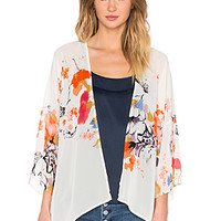Bishop + Young Floral Shawl in Print | REVOLVE