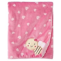 Just One You Made by Carter's® Bumble Bee 2 Ply Blanket