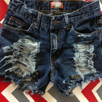 Vintage high waisted rough jeans by SassyCheeks on Etsy