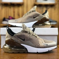 Nike Air Max 270 Sepia Stone Men Sport Running Shoes AH8050-200 - Best Online Sale