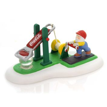Department 56 Accessory COCA-COLA BOTTLE CAP TESTER North Pole Series 4058083
