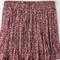 AEO Women's Don't Ask Why Pleated Skirt