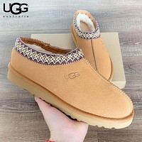 UGG Autumn And Winter New Fashion Boots Keep Warm Fur Women Men Leisure Shoes