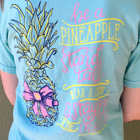 Stand Tall Pineapple Tee - Mint