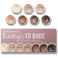7 Ways to Bare | Makeup Collections | bareMinerals