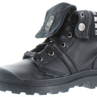 Palladium Baggy Cash Studded Womens Leather Combat Boots