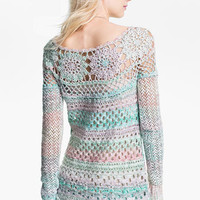 Free People 'Ring of Roses' Crochet Sweater   Nordstrom