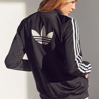 adidas Originals Black Supergirl Track Bomber Jacket